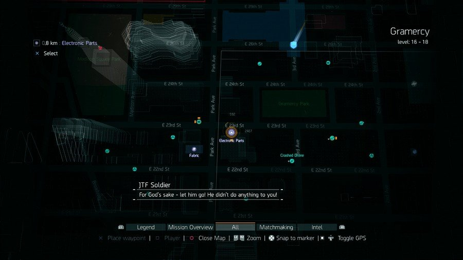 Where To find Lots Of Electronic Parts In The Division 3
