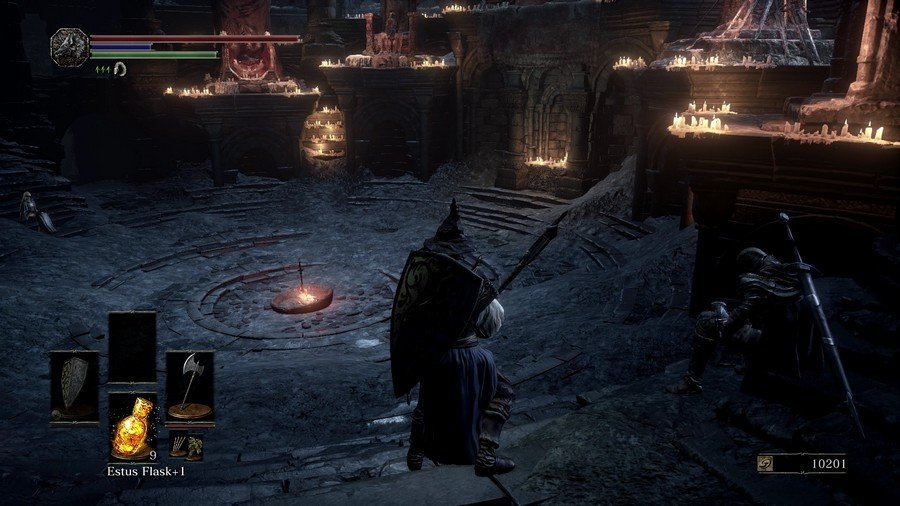 how to use torch dark souls 3