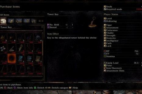 Where To Use The Tower Key In Dark Souls 3