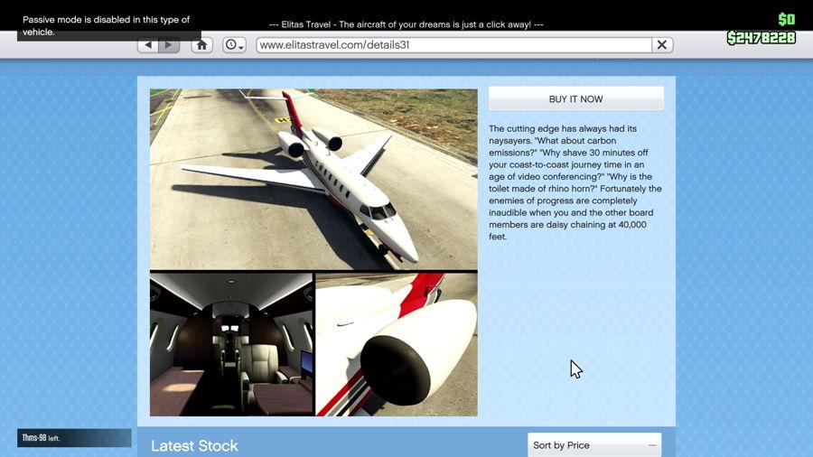 GTA 5 Finace And Felony  Jet