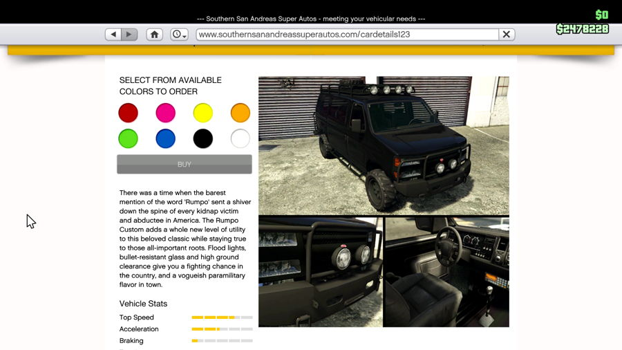 GTA 5 Finace And Felony Van