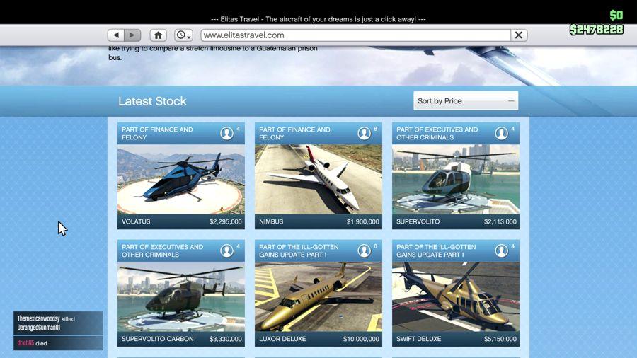 GTA 5 Finace And Felony  planes