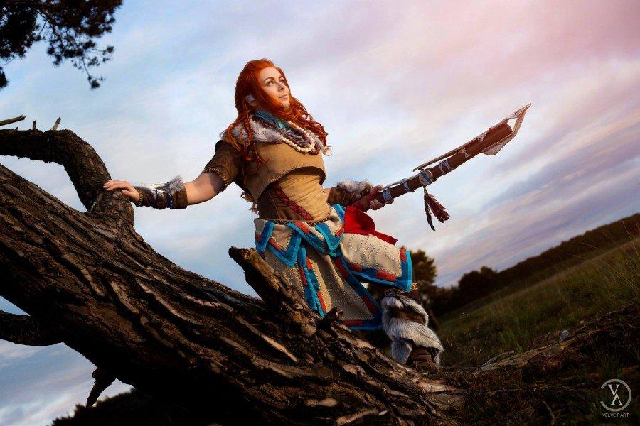 Horizon Zero Dawn Aloy Cosplay - Gamers Heroes (5)