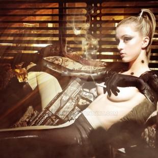 Cosplay Wednesday – Deus Ex's Adam Jensen (Female)