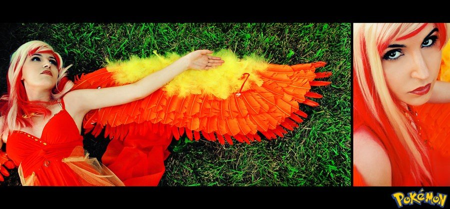 Pokemon Moltres Cosplay - Gamers Heroes (1)