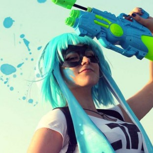 Cosplay Wednesday – Splatoon's Inkling Girl