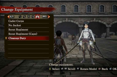 Attack On Titan Costume Unlock Guide
