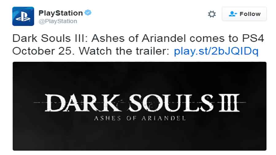 Dark Souls III DLC Announced