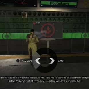 Deus Ex: Mankind Divided – Choose The Bank Or Allison