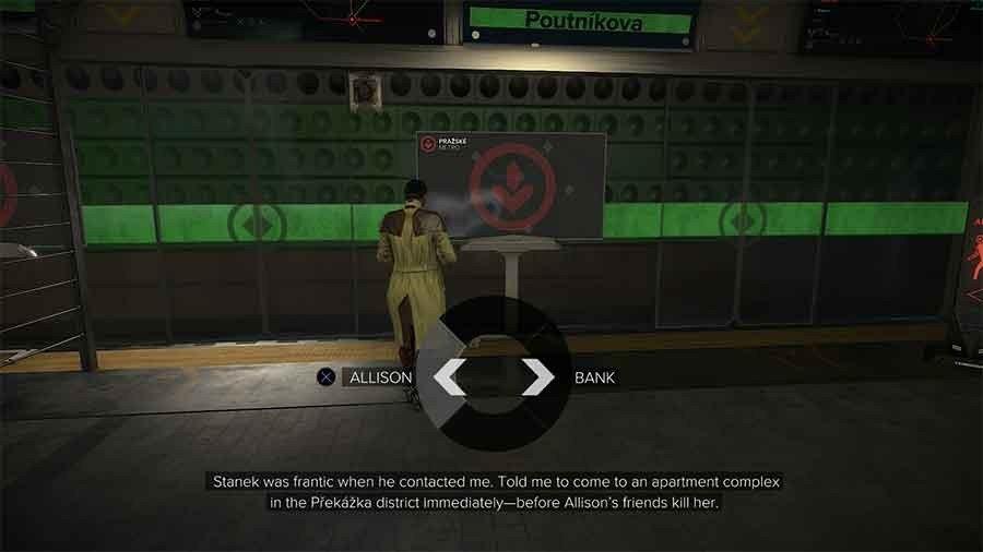 Deus Ex: Mankind Divided - Choose The Bank Or Allison