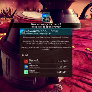 No Man's Sky New Technology Guide