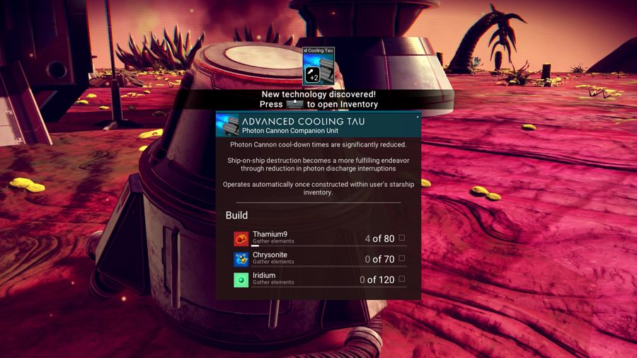 No Mans Sky New Technology Guide
