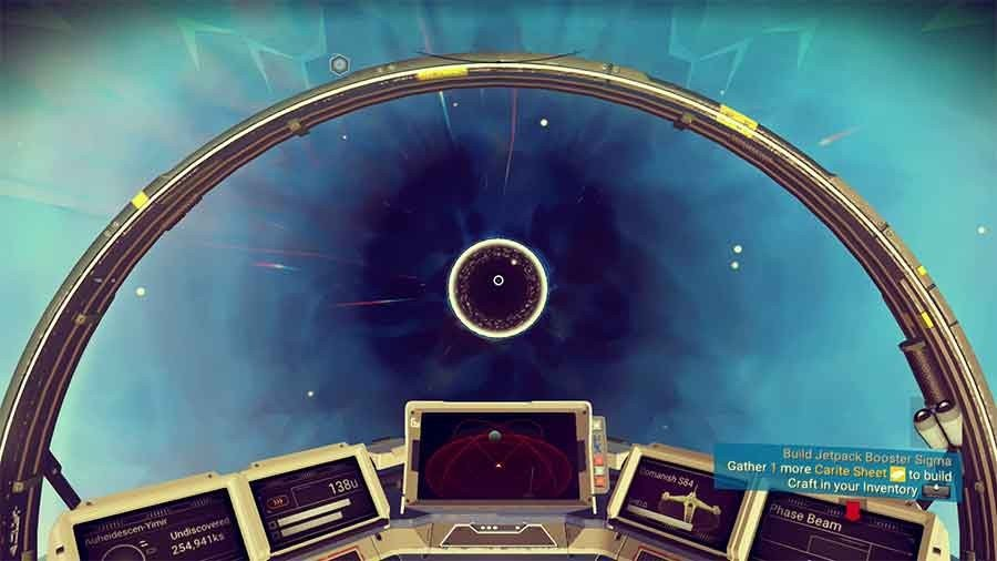 What Happens When You Go Through A Black Hole In No Man's Sky