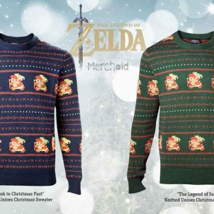 Best Ever Sweater Features Link From The Legend Of Zelda