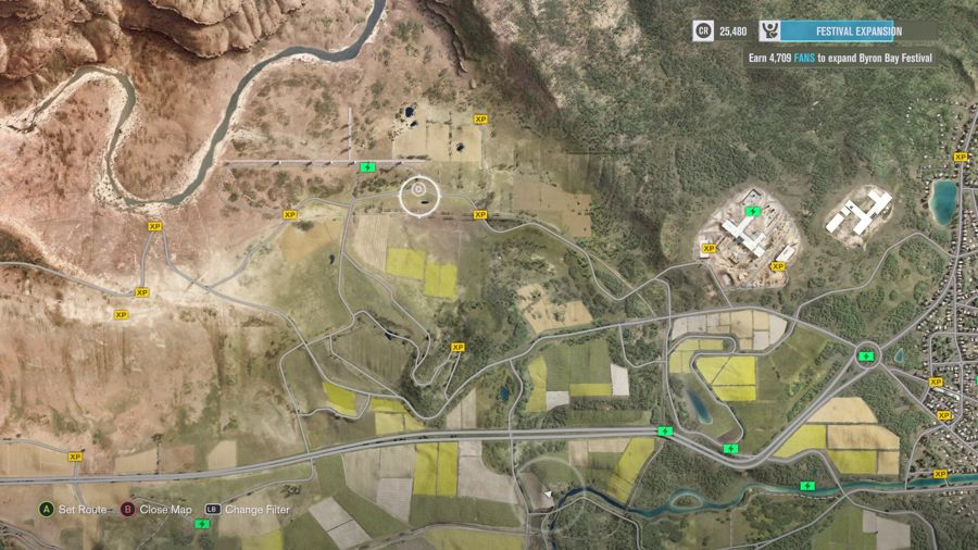 Forza Horizon 3 Farm Area XP Boards 2