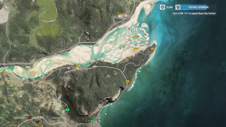 Forza Horizon 3 Rain Forest Area XP Boards  5
