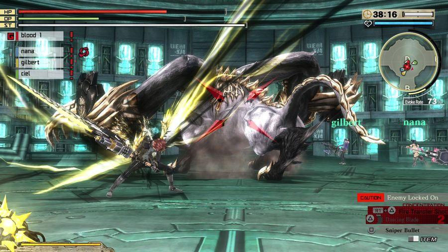 God Eater 2 Combat