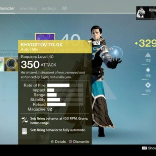 How To Get The Khvostov 7G Exotic Quest In Destiny Rise Of Iron