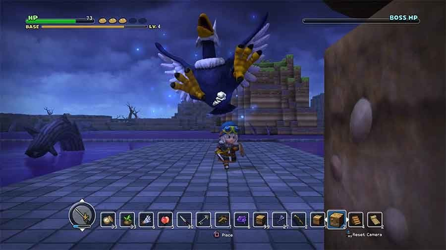 Dragon Quest Builders How To Defeat The Hades Condor