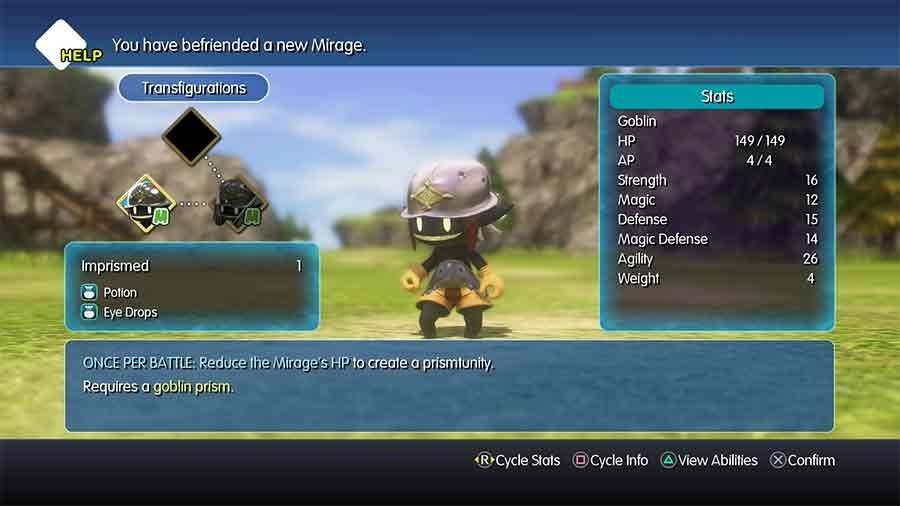 World Of Final Fantasy Mirage Guide Where To Find How To Catch