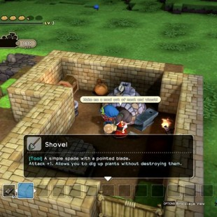 How To Get A Shovel In Dragon Quest Builders