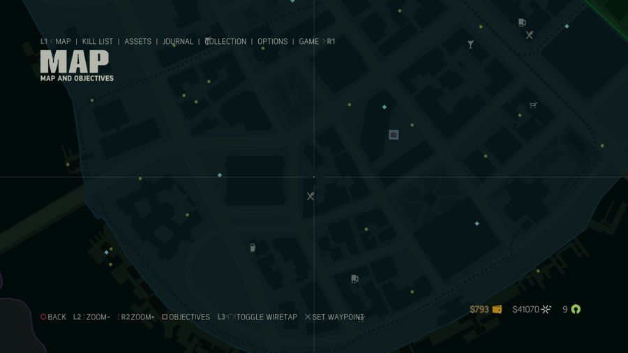 Mafia 3 Collectibles Map Downtown 1