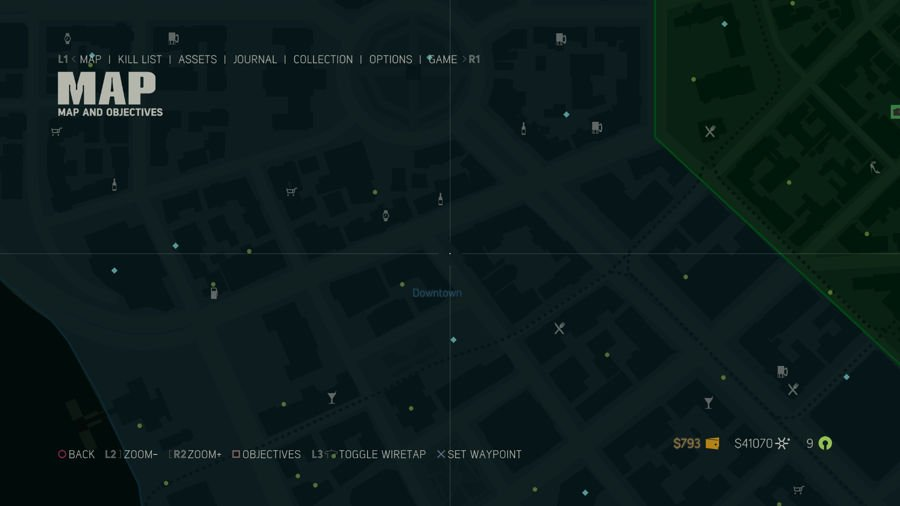 Mafia 3 Collectibles Map Downtown 2