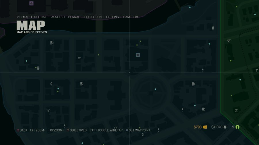 Mafia 3 Collectibles Map Downtown 3