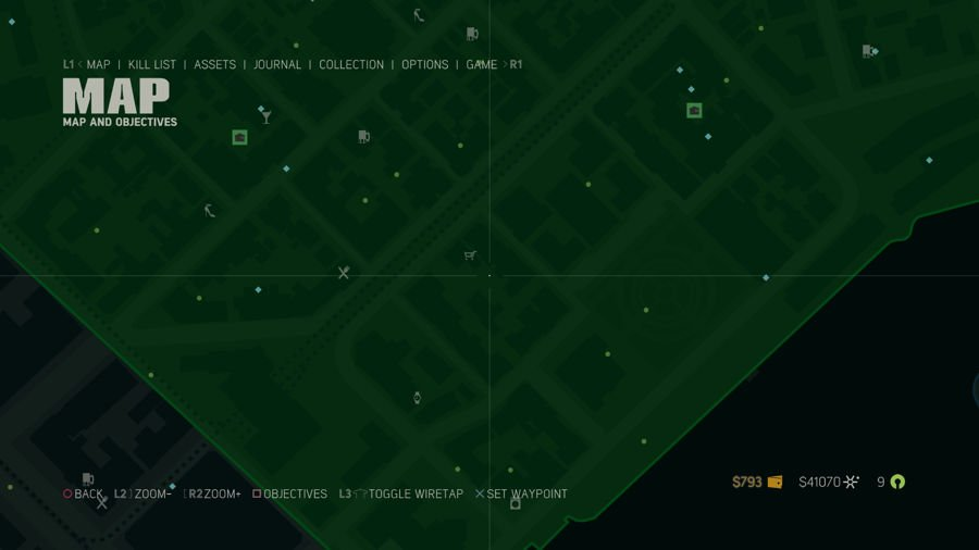 Mafia 3 Collectibles Map French Ward 1