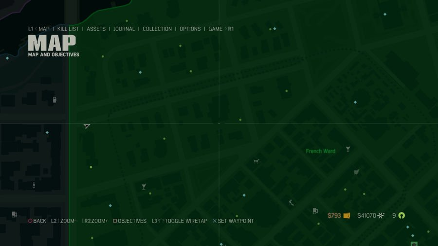 Mafia 3 Collectibles Map French Ward 3