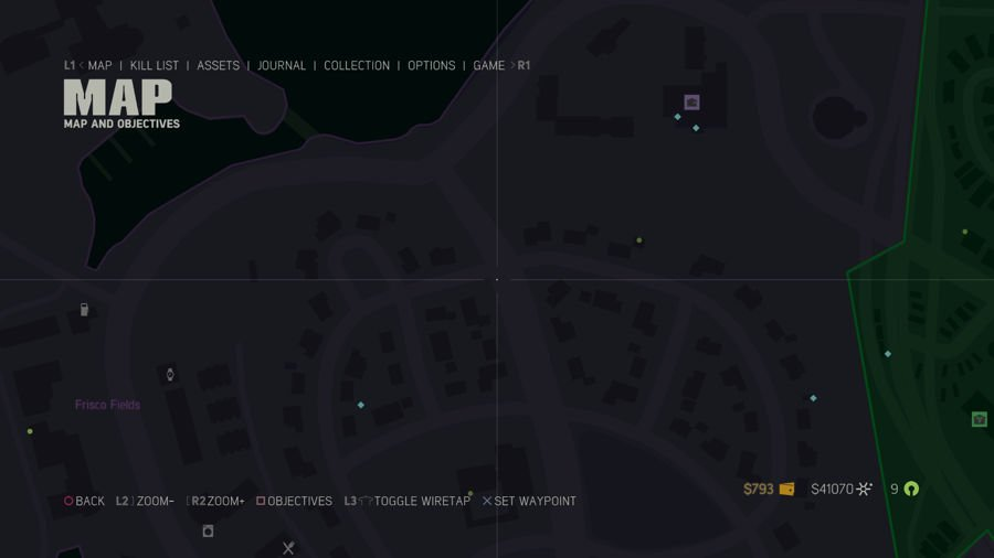 Mafia 3 Collectibles Map Frisco Fields 3