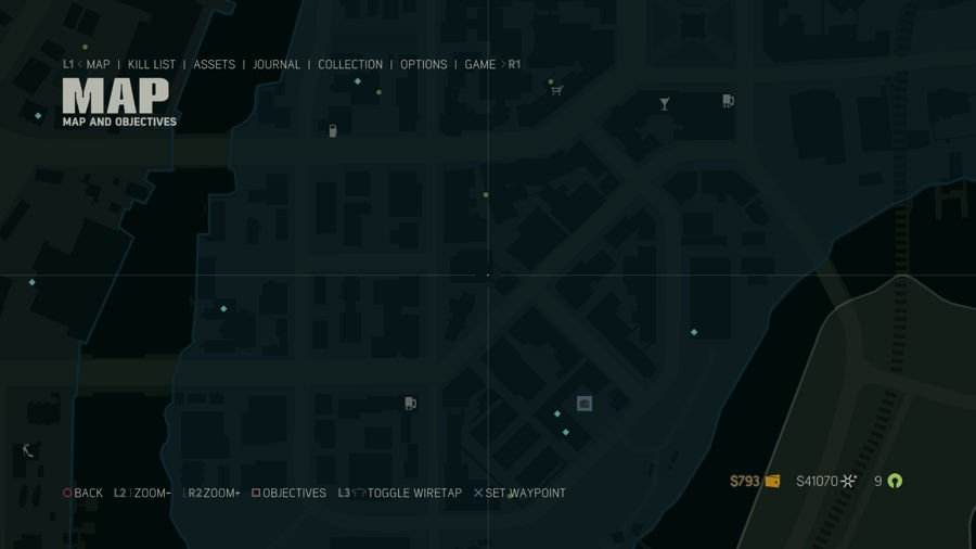 Mafia 3 Collectibles Map Southdowns 1