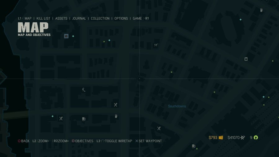 Mafia 3 Collectibles Map Southdowns 3