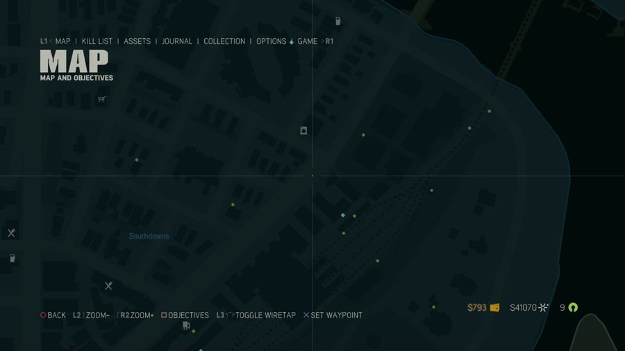 Mafia 3 Collectibles Map Southdowns 4