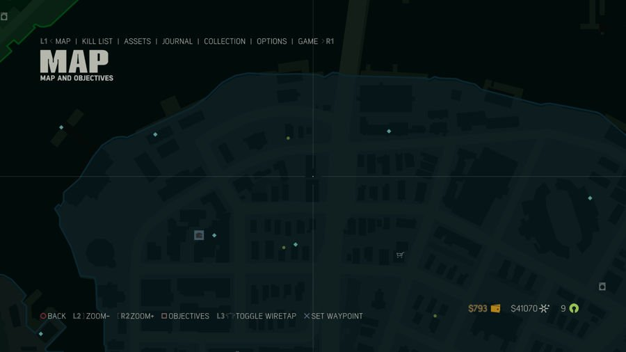 Mafia 3 Collectibles Map Southdowns 5