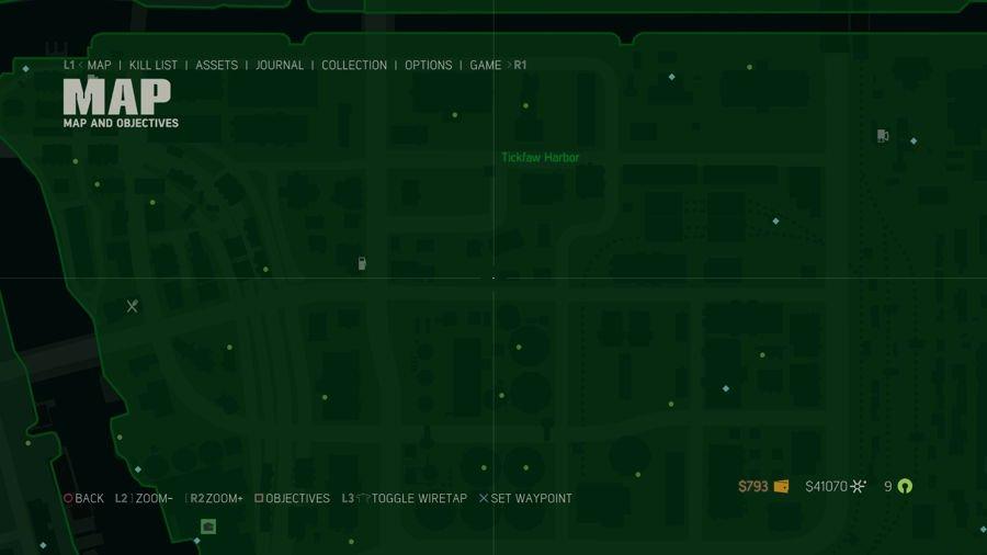 Mafia 3 Collectibles Map Tickfaw Harbor 2