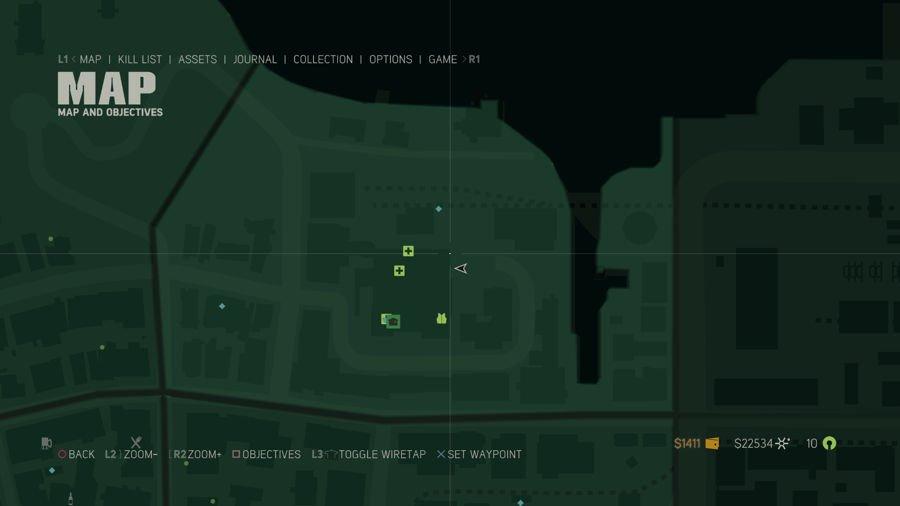 Mafia 3 Point Verdun Collectibles Map 1