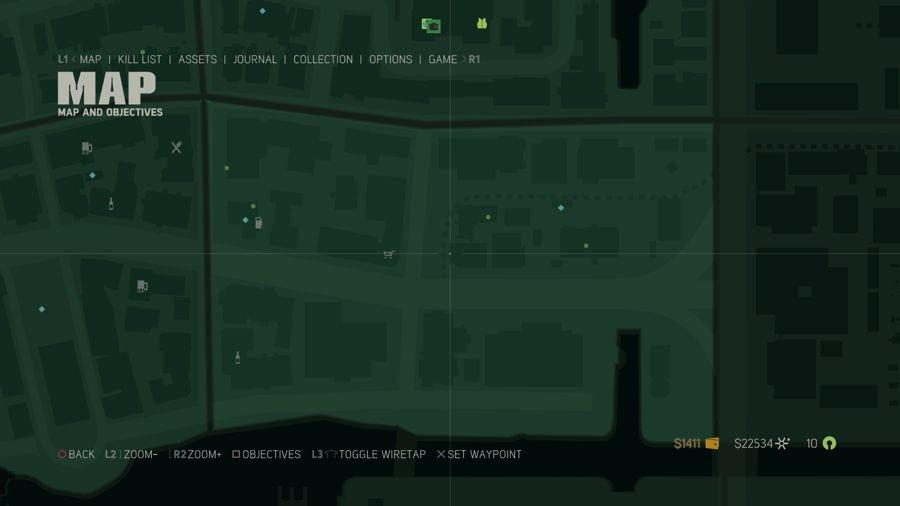 Mafia 3 Point Verdun Collectibles Map 2