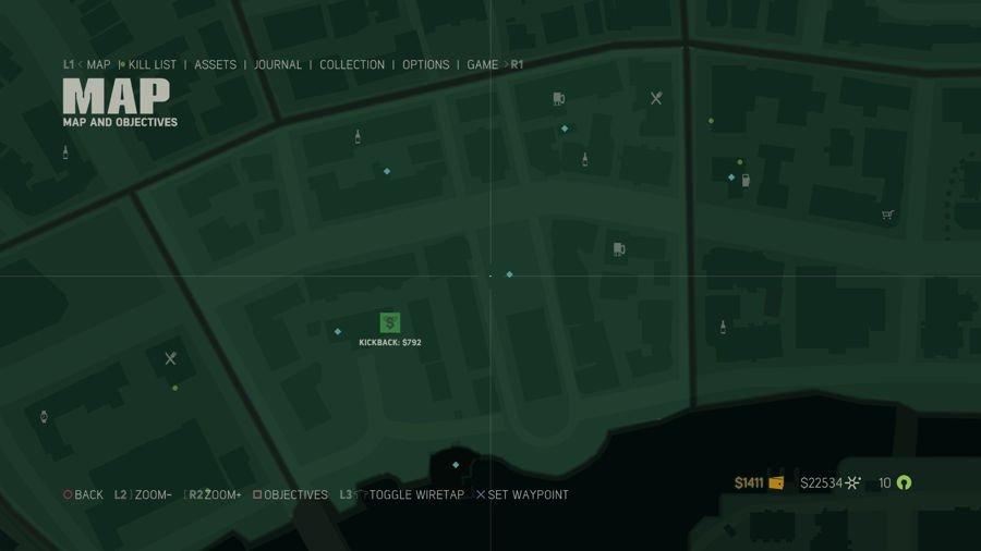 Mafia 3 Point Verdun Collectibles Map 3