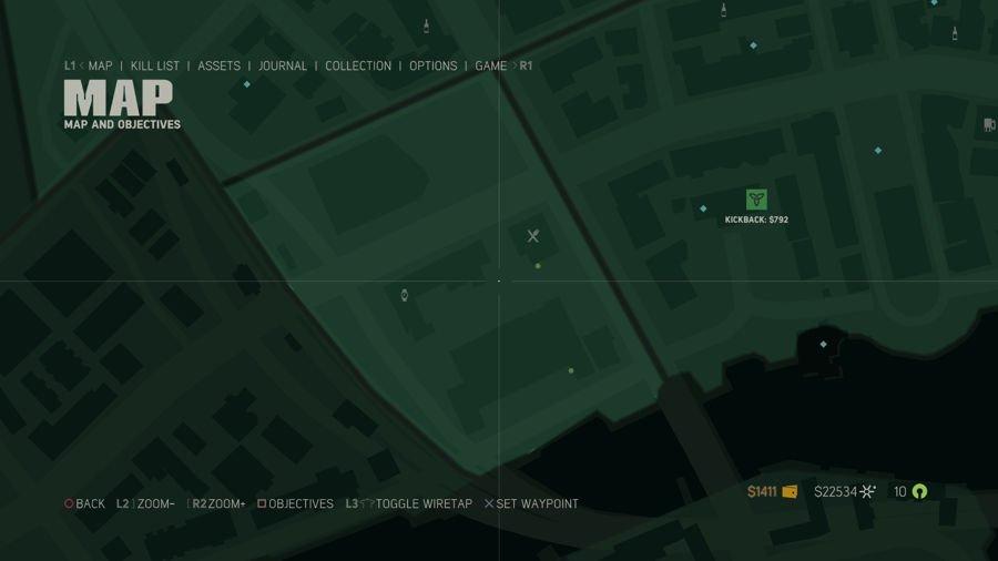 Mafia 3 Point Verdun Collectibles Map 4
