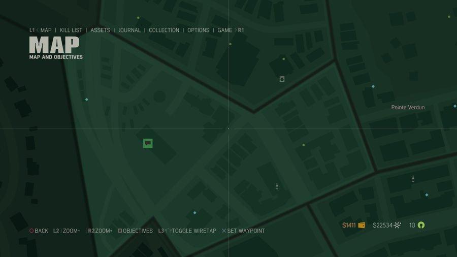 Mafia 3 Point Verdun Collectibles Map 5