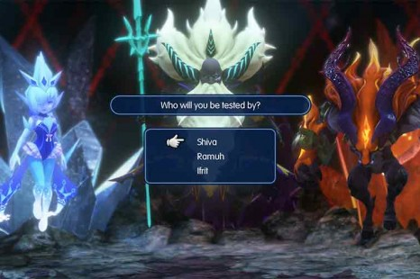 World Of Final Fantasy – Choose Shiva, Ramuh or Ifrit