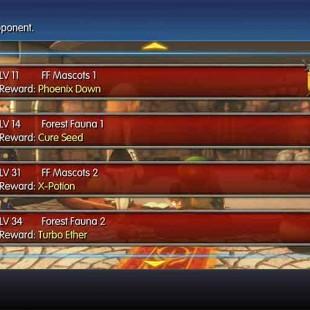 World Of Final Fantasy Coliseum Guide