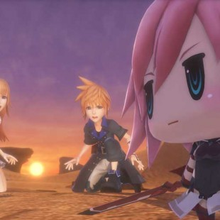 World of Final Fantasy Demo Now Available