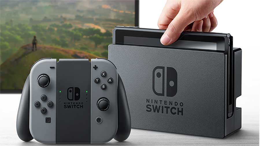 nintendo switch announced