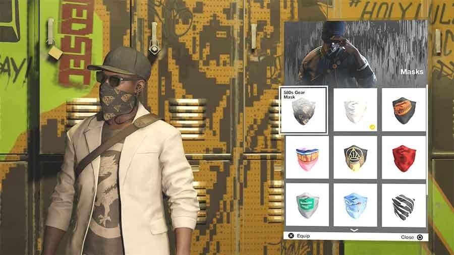 580 Gear Mask