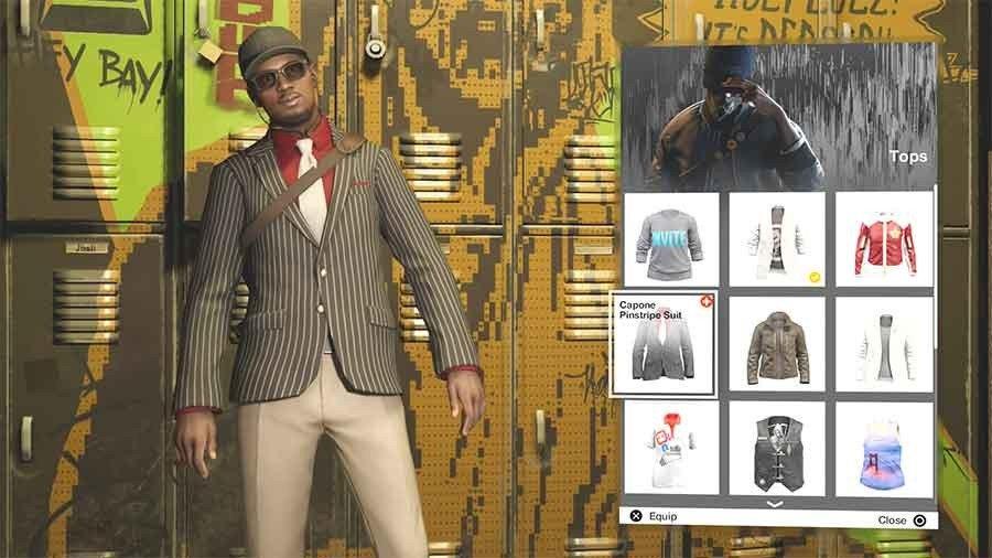 Capone Pinstripe Suit