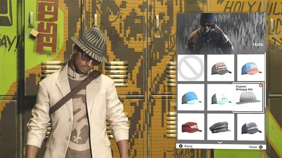 Capone Wiseguy Hat