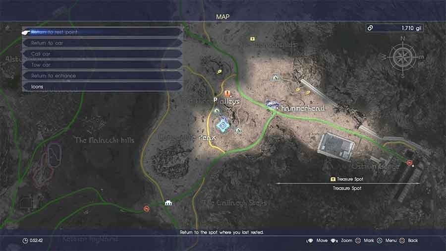Final Fantasy 15 Hidden Treasure Spot Guide