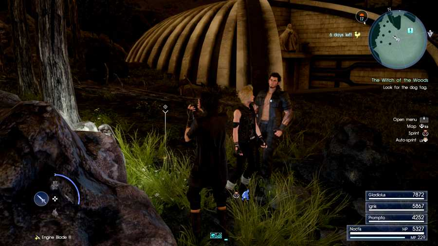 Final Fantasy 15 The Witch Of The Woods